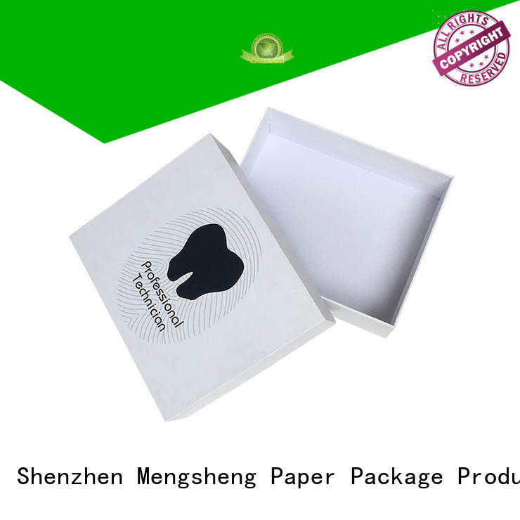 Mengsheng headphones packaging 2 piece gift boxes special for wholesale