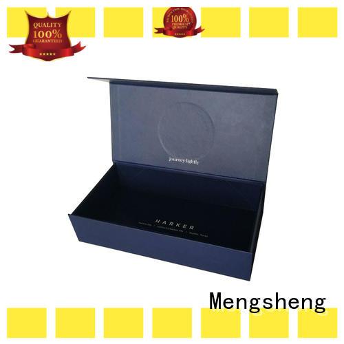 Mengsheng folding folding boxes shipping clothing garment packing
