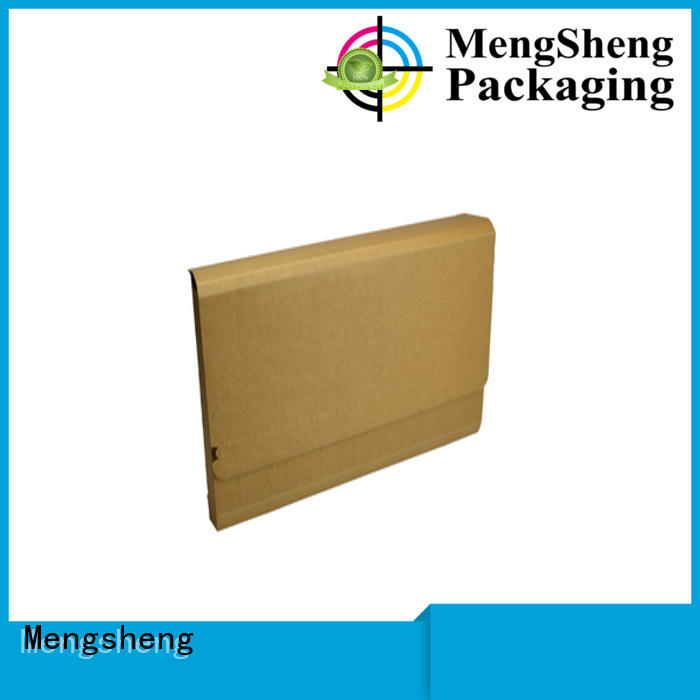 Mengsheng round tube mailing box double sides convenient