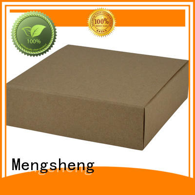 full color red gift box high-quality kraft at discount
