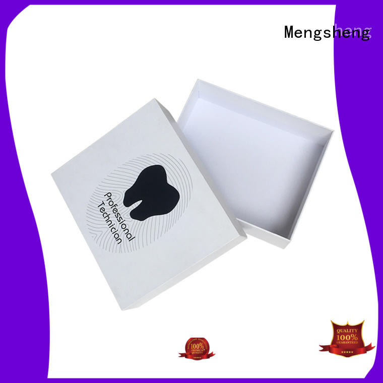 Mengsheng printing bracelet box double sides eco friendly