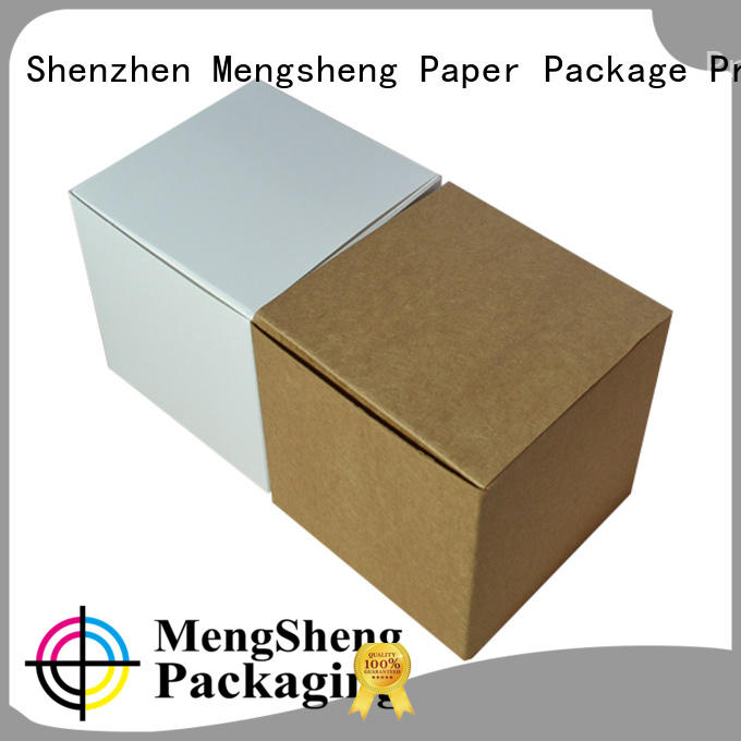 customized big present box pvc inserted for toy storage Mengsheng
