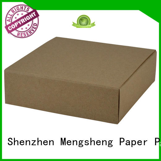 Mengsheng on-sale kraft slider box brown kraft paper latest deisgn