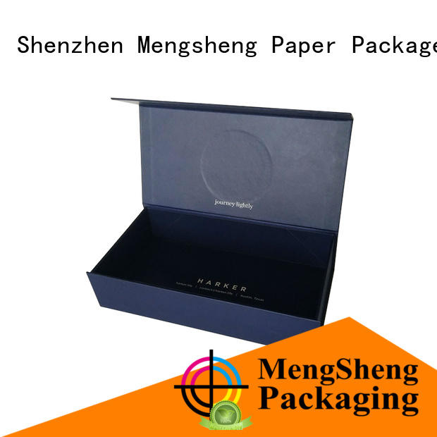 Mengsheng high-quality gift card box customized top brand