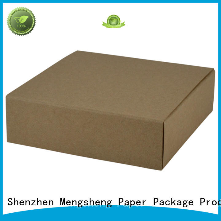 Mengsheng magnetic closure gift card box sturdy