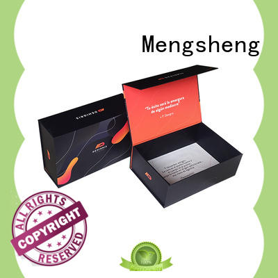Mengsheng luxury box foldable easy closure for florist