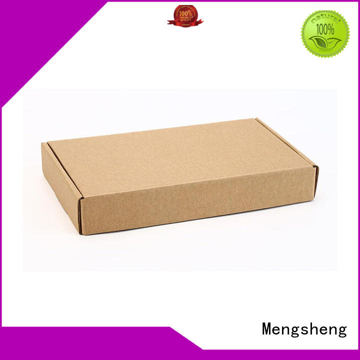 Mengsheng round tube white shipping boxes shoes packing convenient