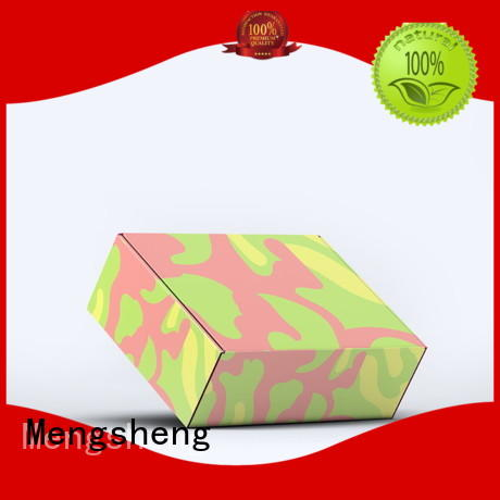 Mengsheng corrugated corrugated packaging clothing packing convenient