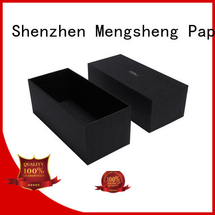 high-quality big white gift box customized top brand Mengsheng