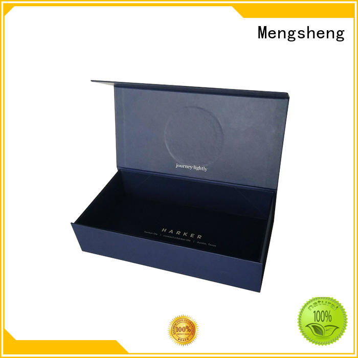 Mengsheng waterproof easy fold boxes logo printed for florist