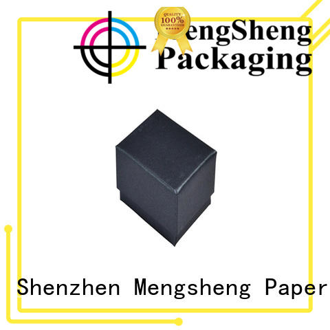 Mengsheng clothing shipping scarf gift box customized for wholesale
