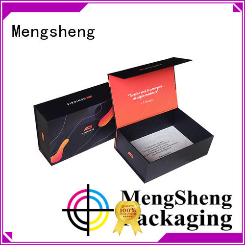 Mengsheng new security box magnets corrugated for fruit packaging