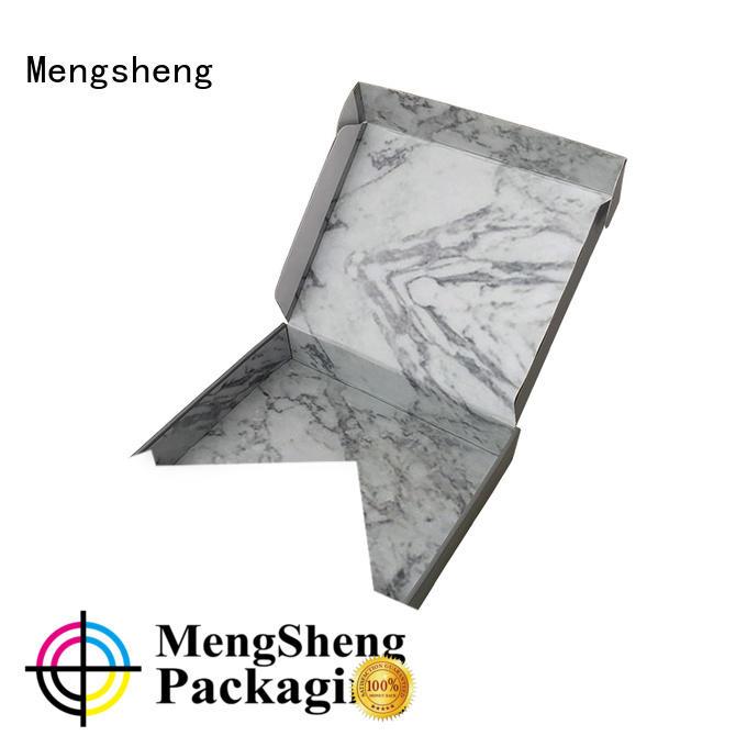 Mengsheng stamping custom mailer boxes custom design