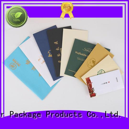Kraft paper invitation envelopes customized for courier Mengsheng