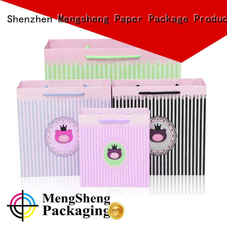 printing bulk paper bags hot-sale with handles