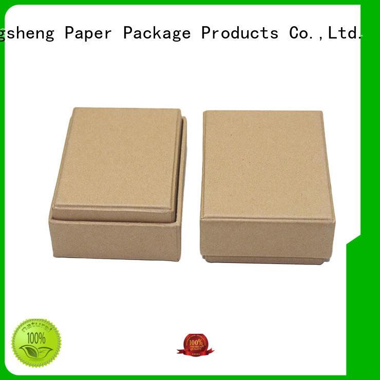 Mengsheng high-quality pink gift box rectangular top brand