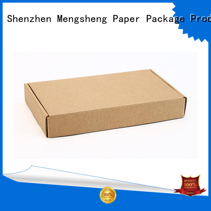 bottle packaging shoe box clothing box corrugated cardboard with handle