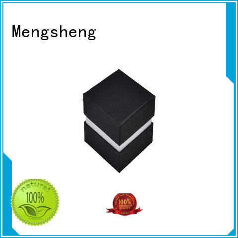 Mengsheng flocking box packaging shoes packing convenient