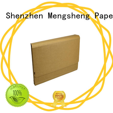 corrugated corrugated mailers strong convenient Mengsheng