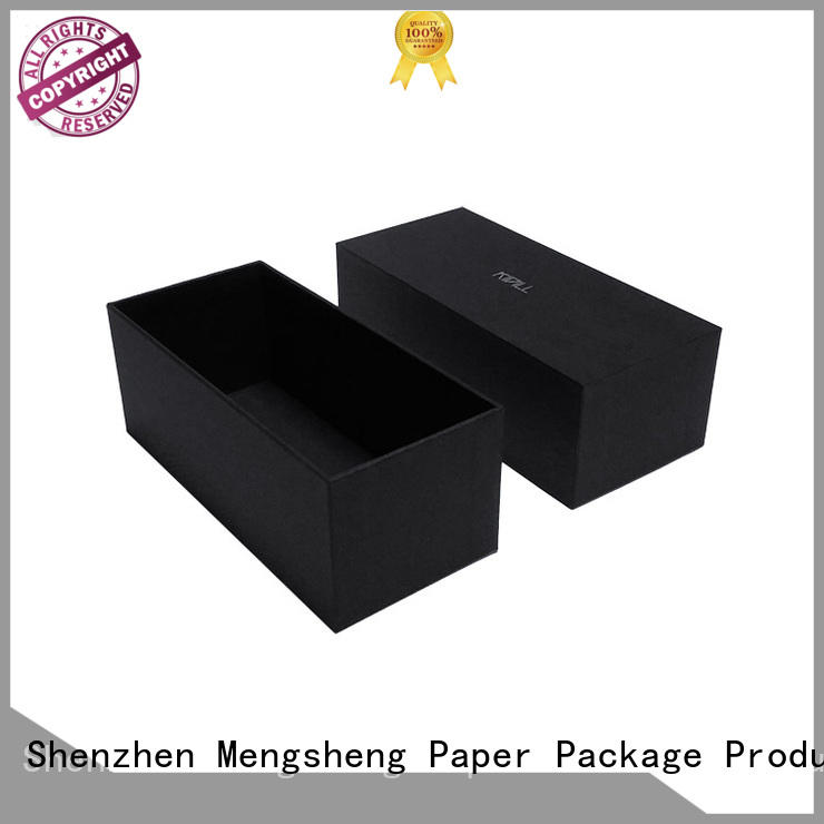 Mengsheng high-quality scarf gift box reversible for wholesale