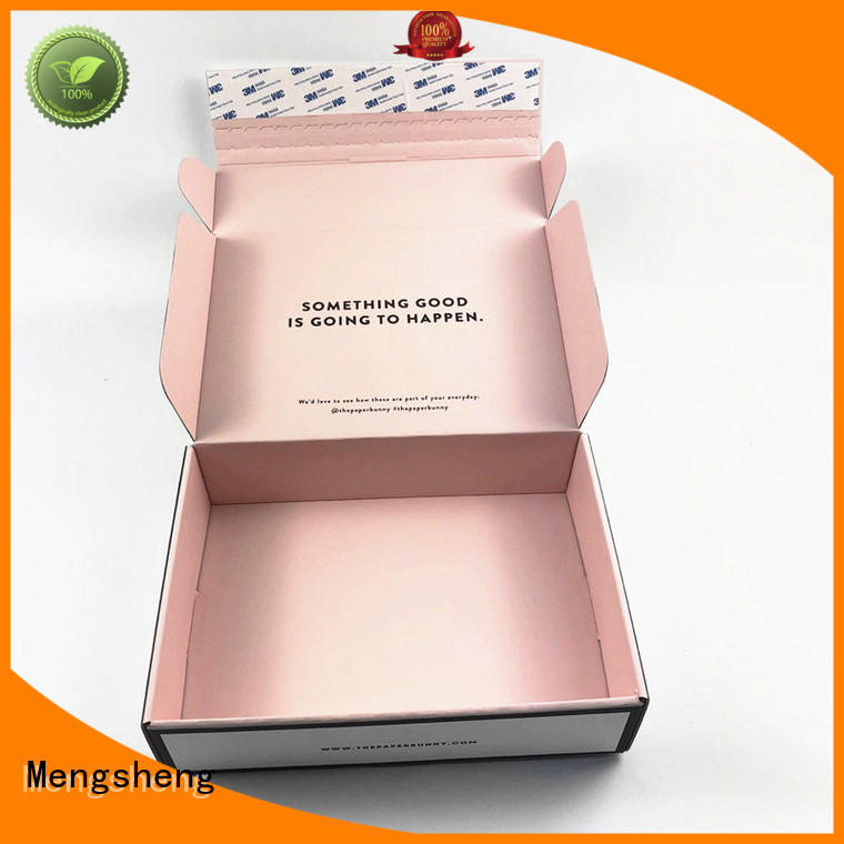 natural kraft paper branded packaging boxes clothing packing convenient