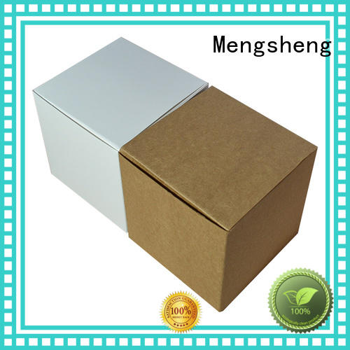 Mengsheng free sample small gift boxes corrugated clothing shipping