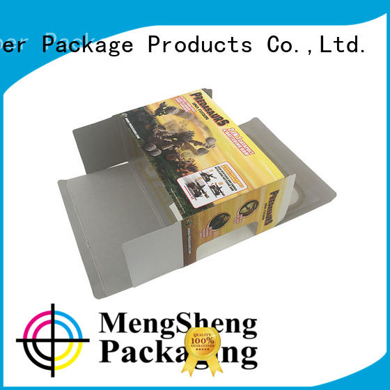 Mengsheng free sample large white gift box carton printed for fruit packaging
