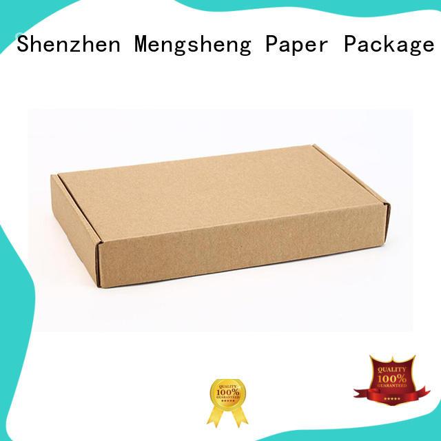 Mengsheng pvc window shirt gift boxes at discount