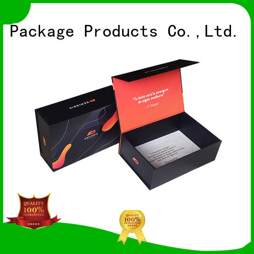 Mengsheng waterproof box foldable logo printed swimwear packing