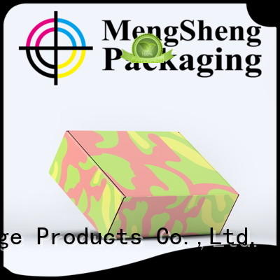 Professional factory shenzhen supply eco kraft corrugated cardboard box mailers boxes
