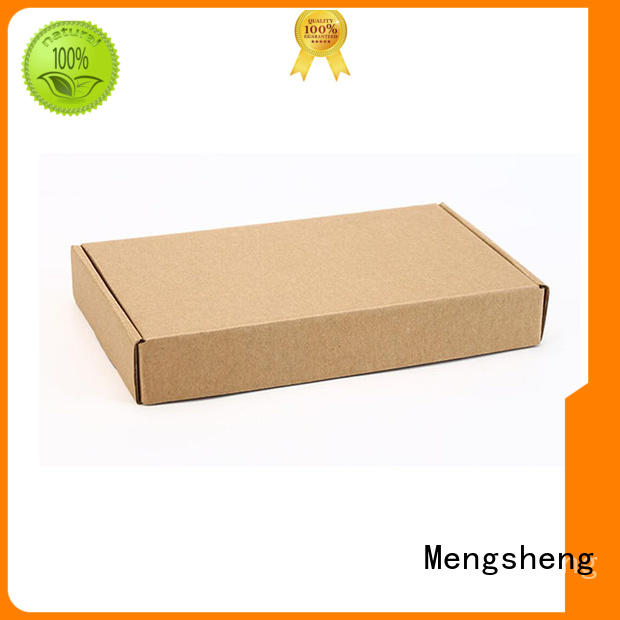 Mengsheng customized shirt gift boxes at discount ectronics packing
