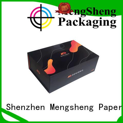 waterproof fold paper box folding swimwear packing Mengsheng