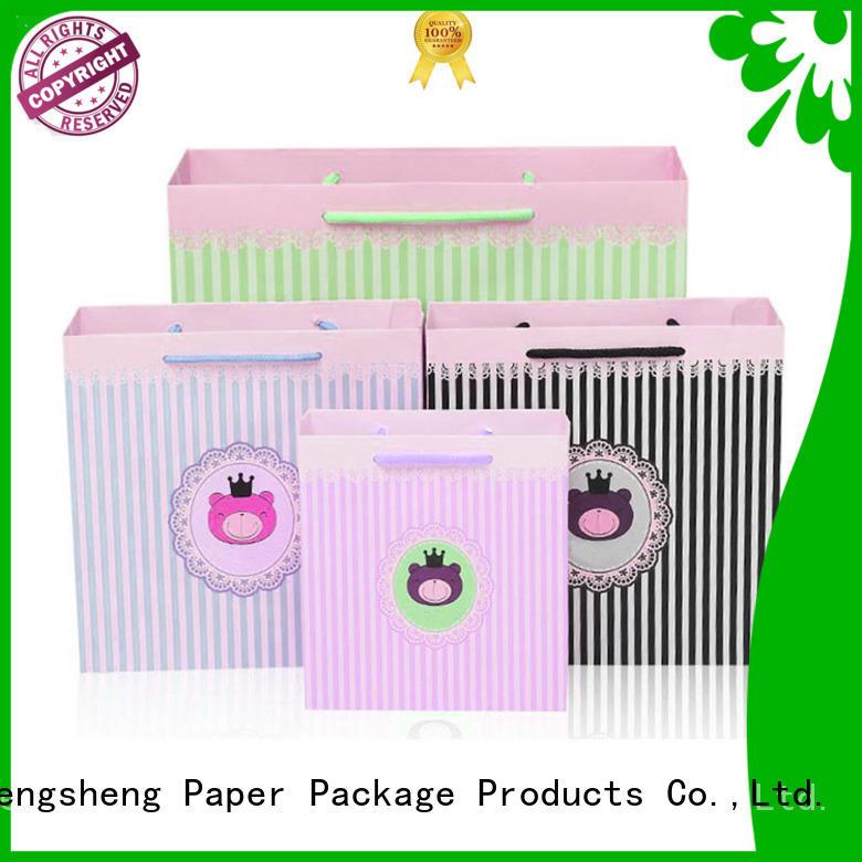 Custom Colors on Paper Bags w/ Paper Handles