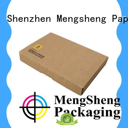 Mengsheng eco cardboard paper box for florist