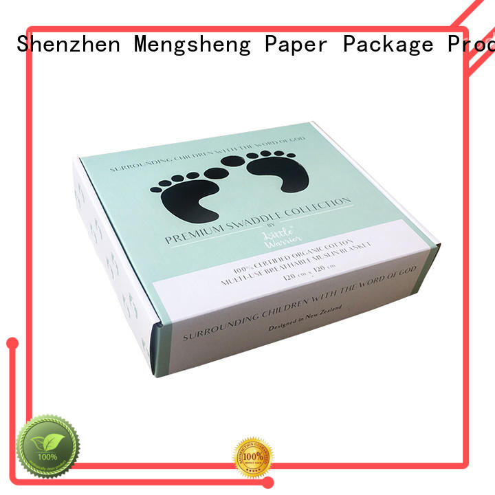 free sample small paper boxes corrugated clothing shipping