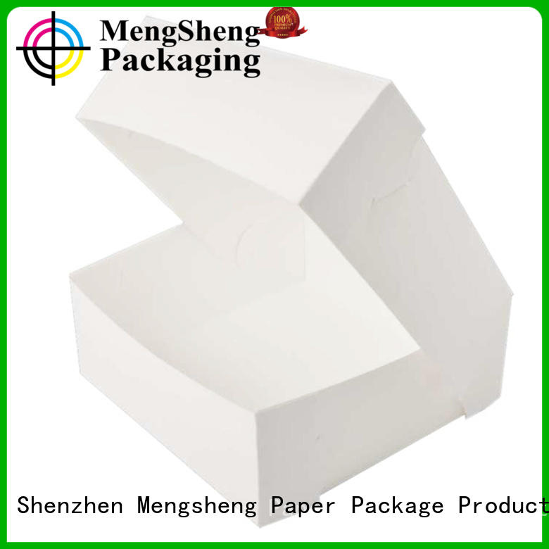 Mengsheng imprinted paper cake box removable