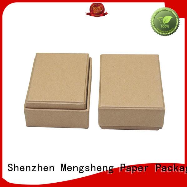 Mengsheng kraft fragrance gift box at discount bulk producion
