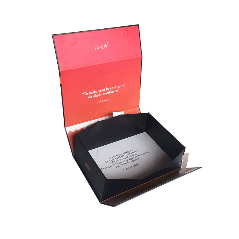 Mengsheng new magnetic gift box printing with lid-3
