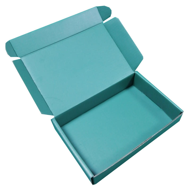 Mengsheng printing corrugated packaging box clothing packing convenient-3