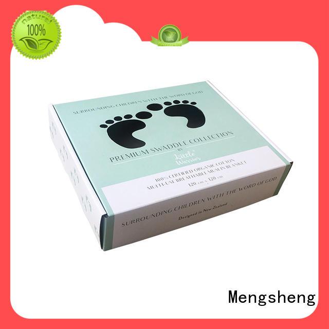 Mengsheng clothing box dress box at discount with handle