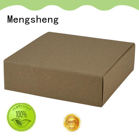 Mengsheng stamping two piece box luxury jewelry packing