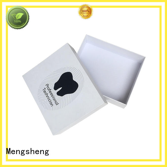 Mengsheng boxes empty sweet boxes natural kraft paper for packing