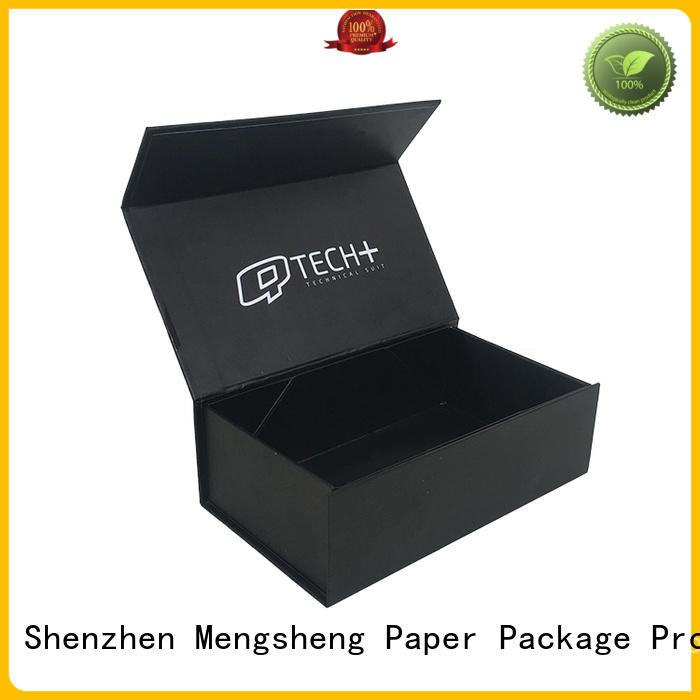 Mengsheng black fragrance gift box at discount bulk producion
