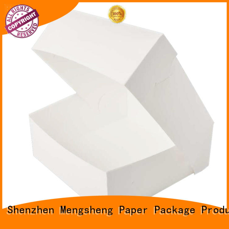 full color cake boxes for sale sturdy for wholesale Mengsheng