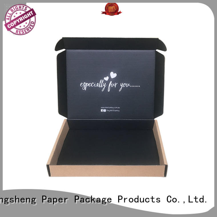 Mengsheng cosmetic packaging custom apparel boxes free sample with ribbon