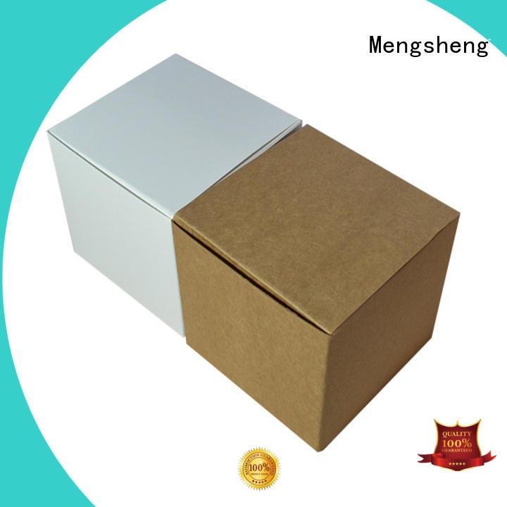 Mengsheng free sample gift boxes wholesale corrugated clothing shipping