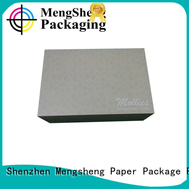 Mengsheng magnetic closure cake slice boxes reversible for wholesale