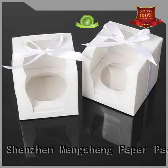 Mengsheng imprinted christmas cupcake boxes boxes for wholesale
