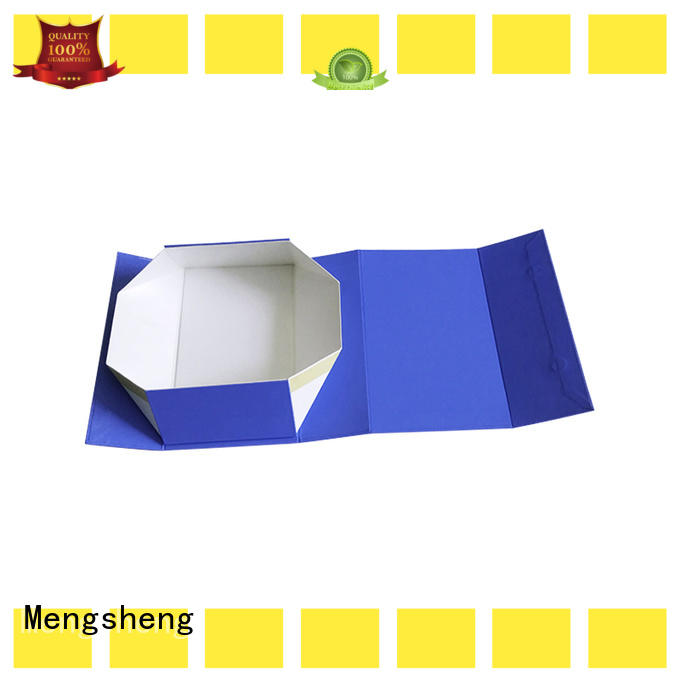 Mengsheng luxury cheap folding boxes shipping clothing for florist
