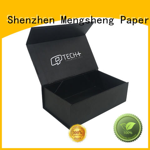 Mengsheng magnetic closure custom size boxes rectangular for wholesale